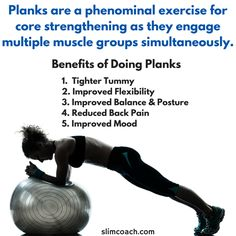 benefits of doing planks