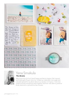 Jot Magazine - Issue 6  It's our first birthday here at Jot - a papercrafts publication for the modern day memory keeper.