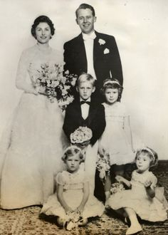 2x-Princess Astrid of Norway and Johan Martin Ferner on 12 January 1961 in Asker, Norway. Five children.
