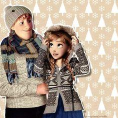 Christophe et Anna ! ❤️