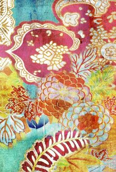 Fabric by Tracy Porter great. feeling of the Aesthetic Movement.  Can I do each room in a different style?