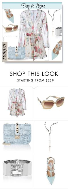"""Floralesque..."" by desert-belle ❤ liked on Polyvore featuring Zimmermann, Oscar de la Renta, Valentino, Pamela Love, Fendi, DayToNight, valentino, romper, polyvoreeditorial and zimmerman"