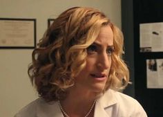 Jennifer Kramer as Brad's doctor. What news did she have for him? Shocking News, New Tricks, Special Guest