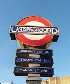 Metropolitan Line, London Underground Tube, Old Things