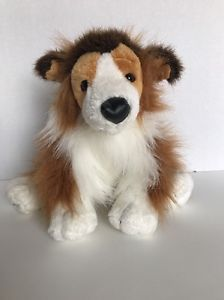 Webkinz Collie Puppy Dog Stuffed Animal NO CODE HM149  | eBay