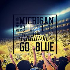 Even if you aren't a Michigan fan, you have to appreciate the tenacity of their fans.
