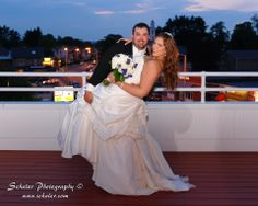 Bride and Groom on balcony at Hotel Northampton! #weddings #hotelnorthampton #northamptonma
