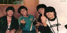 Leusemia en El Rock Subterráneo Ataca Lima (1984) - Subte Rock. Primer artículo periodístico sobre la movida.