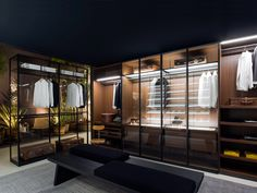 The best of luxury closet design in a selection curated by Boca do Lobo to inspire interior designers looking to finish their projects. Discover unique walk-in closet setups by the best furniture makers out there. Walk In Closet Design, Wardrobe Design, Closet Designs, Walk In Wardrobe, Bedroom Wardrobe, Home Bedroom, Dressing Room Closet, Dressing Rooms, Dressing Area