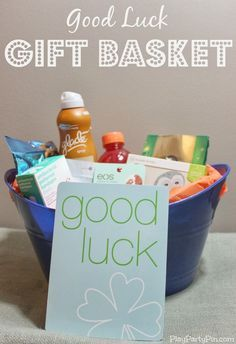 Good Luck Gift Basket - Play.Party.Pin