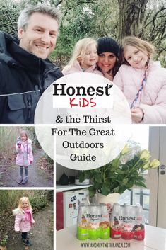 Honest Kids Drinks & The Thirst For The Great Outdoors Guide Kid Drinks, Fun Activities For Kids, Slushies, My Favorite Food, The Great Outdoors, Cool Kids, Parenting, Entertaining, In This Moment