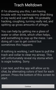 No one knew how to help him during a panic attack, so this autistic man made an app to tell them.