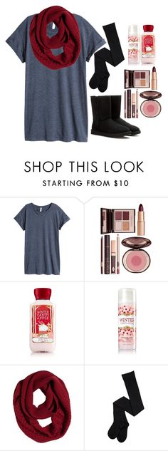 """""""I know what you did last summer~look me in my eyes my lover~i know what you did last summer"""" by smileyavenuegirl ❤ liked on Polyvore featuring H&M, Charlotte Tilbury, prAna and UGG Australia"""