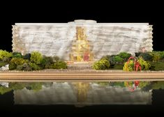 National Art Museum of China competition entry by Frank Gehry.  (Jean Nouvel won.)