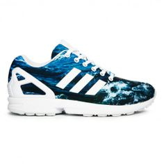 Adidas Zx Flux Ocean M19846 Sneakers — adidas at CrookedTongues.com