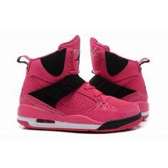new concept 9e703 af94c Nike Air Jordan Flight 45 High GS Vivid Pink Black - Nike Jordan Women Shoes  -