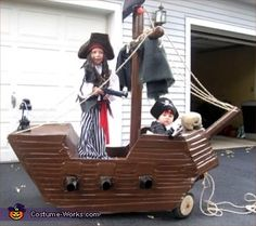 Pirates of the Carribean - Halloween Costume Contest