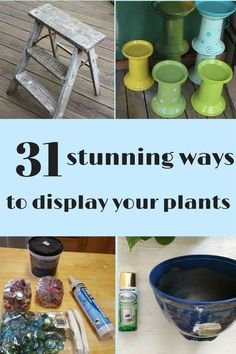 Spruce up your home with these fun stands for your plant friends