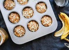 Banana oatmeal muffins - cookieandkate.com