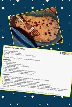 Microwave breakfast maker makes great cookies !