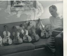 Haunting violin music?  Photo error?  This HAS NOT been Photoshopped... Original vintage snapshot.  Spooky, eh?  BAMchicago.com