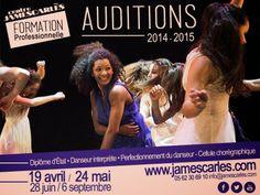 Auditions Danse Professionnelle, au Centre James Carlès ToulouseAFROZAP