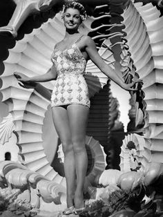 I would like to be taller and thicker and less colored, please. Just like Esther Williams