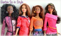 Barbie So in Style Baby Phat. Marisa, Chandra, Kara, Grace