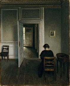 Vilhelm Hammershøi: the poetry of silence