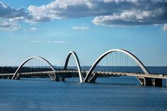 Brasilia. great bridge architecture. this is playful!
