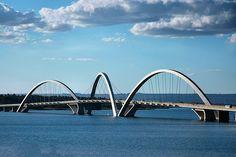 Brasilia. great bridge architecture. this is playful!