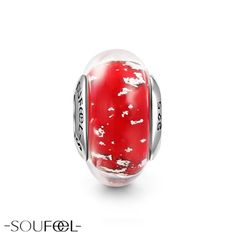 Red Willow and Wind Murano Glass Bead. SOUFEEL jewelry, for every memorable day.