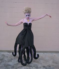 Ursula DIY Halloween Costume Superholly