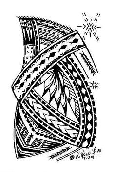 samoan ink | Taulima Tattoo - LiLz.eu - Tattoo DE #polynesian #tattoo
