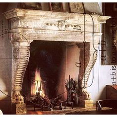 #antiquefireplace #antiquefireplaces #stonefireplace #stonefireplaces…