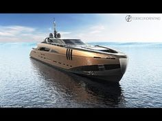 Italian designer unveils plans for stunning 164ft superyacht made out of...