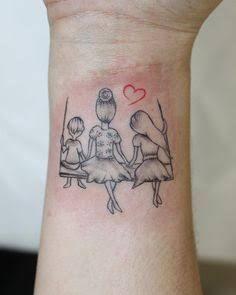 Tattoos For Daughters ; Tattoos - tattoos for daughters * tattoos for women ; tattoos for women sma - Mommy Tattoos, Kid Tattoos For Moms, Mother Tattoos For Children, Tattoo Mama, Motherhood Tattoos, Mom Daughter Tattoos, Tattoo For Son, Baby Tattoos, Family Tattoos