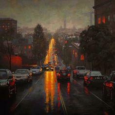 Gavin Glakas oil painting