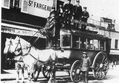 La vie d'un cheval à Paris vers 1890 - attelage-patrimoine