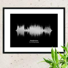 Diese personalisierte Lied Sound Wave Print ist ein einzigartiges Geschenk, das Sie Ihrem Freund, Freund, Ehemann oder Eltern geben können. Dieser Druck zeigt dein oder sein Lieblingslied, das...