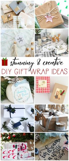 Stunning & Creative Gift Wrap Ideas + 4 Simple Gift Wrapping Tips