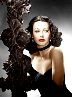 Hedy Lamarr (Color by Brenda J Mills)