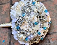 Lia Couture Bouquet - Turquoise