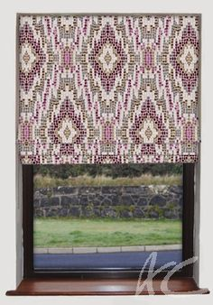 #Artiste #Mosaic #Damson #Roman #Blind #Pink #Velvet #New #Redecorating #New #House