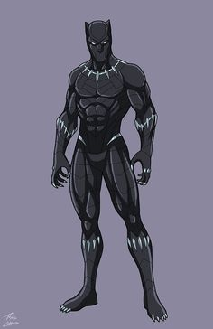 Black Panther by phil-cho on DeviantArt