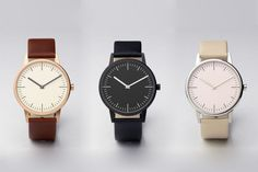 Nice Watches by UNIFORM WARES (The 150 series).