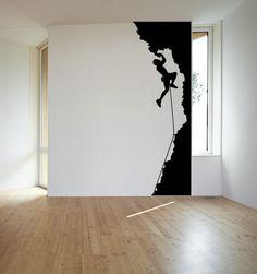 Rock Climber Boys Bedroom Wall Murals