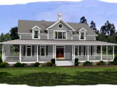 HousePlans.com This one is beautiful too. Not as close to the dream as the other one though.
