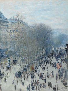 Claude Monet (French, 1840-1926), The Boulevard des Capucines, 1873