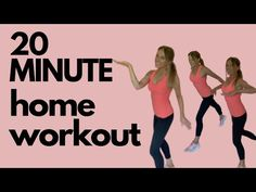 HOME WORKOUT - 20 MINUTE HIIT & FULL BODY WORKOUT AT HOME - NO EQUIPMENT NEEDED | Lucy Wyndham-Read - YouTube Gym Workout For Beginners, Workout Videos, Easy Workouts, At Home Workouts, Fitness Workouts, Short Workouts, Fitness Tips, Lucy Wyndham, Full Body Workout At Home
